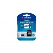 Memoria MicroSD Verbatim Microsdxc 64Gb + Adaptador SD UHS-I