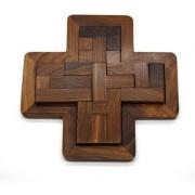 Master Piece Crafts Handmade Piece-It-Together Cross Challenge