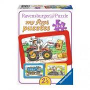 Ravensburger Mijn eerste puzzel Machines RAVENSBURGER