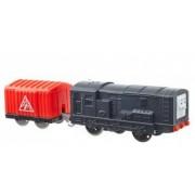 Trenulet Diesel Locomotiva Motorizata cu Vagon Thomas and Friends Track Master