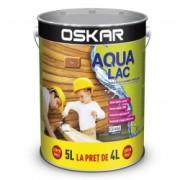 Lac pentru lemn Oskar Aqua Lac pe baza de apa teak 5L