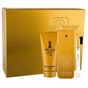 Paco Rabanne 1 Million confezione regalo Eau de Toilette 100 ml + doccia gel 100 ml + Eau de Toilette 10 ml per uomo