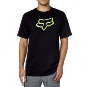 FOX Camiseta Fox Legacy Foxhead Black / Green