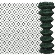 vidaXL Gard lanț 1,25 x 15 m, Verde