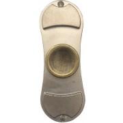 Fidget Spinner - Metal Silver