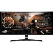 "Monitor Gaming LED IPS LG 34"", Curbat, HDMI, DisplayPort, Negru, 34UC79G-B"