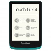 PocketBook PB627 Touch Lux 4, Emerald Четец на Е-книги