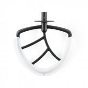 Klarstein Lucia, гъвкава метличка за смесване, аксесоар, резервна част за кухненски робот, пластмаса (TK2-Rührhaken-Flex)