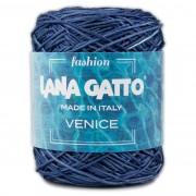 Lana Gatto VENICE kötő/horgoló fonal, viszkóz/pamut, 8895, Blu