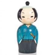 Japonská panenka Kokeshi Samuraj 13,5 cm