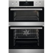 AEG DCB331010M Double Built In Electric Oven - Stainless Steel