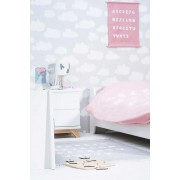 Lenjerie pat copii Jollein ABC roz