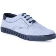 Shoe Fellow Grey Canvas Shoes for Men Casuals For Men(Grey)