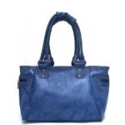 Bizarre Vogue Women Blue Hand-held Bag