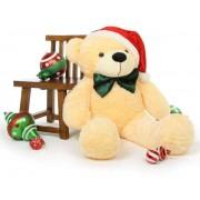 5 Feet Special Christmas Peach Plush Teddy Bear