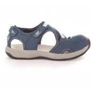 Zapato Mujer Anura Azul / Celeste Lippi