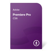 Adobe Premiere Pro CS6 GER ESD (ADB-PP-CS6-DE) elektronički certifikat