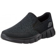 Skechers Men's Equalizer 2.0 Black Nordic Walking Shoes - 8 UK/India (42 EU)(9 US)