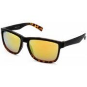 Stacle Rectangular Sunglasses(Yellow)
