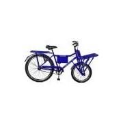 Bicicleta 26 Super Cargo Freios V-Brake - Master Bike - Azul