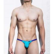 Mategear Kim Bae Tapered Sides V Front Series IV Maximizer Ultra Bikini Swimwear Deep Sky Blue 1160203