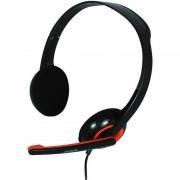 Casti Spacer SPK-339 Black / Orange