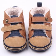 Pantofi baieteti maro 0-6 luni