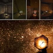 Stars Projector Night Light Lámpara De Proyección LED DIY Sky