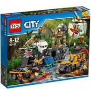 Конструктор ЛЕГО СИТИ - Jungle Място за изследвания, LEGO CITY, 60161