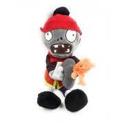 24X7 Emall Plants Vs Zombies Soft Toy Orange Zombie Eating Plants - 12 Inches