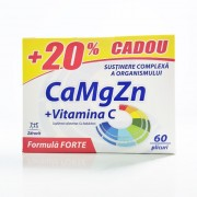 Calciu + Magneziu + Zinc Forte 60 plicuri