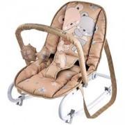 Бебешки шезлонг с гриф Top Relax, Lorelli, Beige Za Za, 0740230