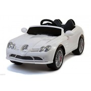 Premium Edition Licensed Mercedes Benz Maclaren SLR 12v Ride on Car/Toy for Kids with Remote Control, Music, Lights