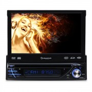 Auna MVD-260, радио за автомобил, DVD, USB, SD, AUX, MP3, A / V (TC7-MVD-260)