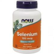 Now Foods Selenium 100mcg 250tabl