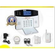 Sistem de alarma cu apelare GSM