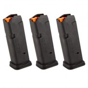 Magpul Pmag 15 Gl9 For Glock Handguns - Pmag 15 Gl9 Magazine 3 Pack For Glock