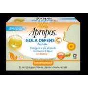 Apropos gola defens c limone e zenzero 20 pastiglie protegge la mucosa orofaringea desa pharma