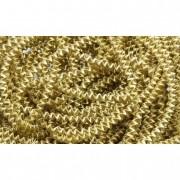 Bouillon drót fém 4mm 100g arany