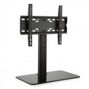 TV-Ständer Größe M Höhe 60 cm höhenverstellbar 23-47 Zoll Glasfuß schwarz