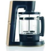 Borosil coffee maker 1 L Personal Coffee Maker(Black)