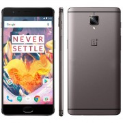 "Oneplus 3T A3010 4G LTE Teléfono Móvil Android 6.0 Quad Core Snapdragon 821 6GB RAM 128GB ROM 5.5 ""FHD 16.0MP 3400mAh Gris"