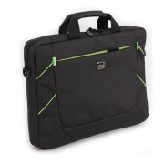 "Carry Case, Luckysky 15.6"", Black/Green"