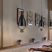 Scaldare Hanglamp Modern Zwart Rond Metaal - Scaldare Quara