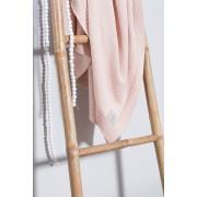 Paturica bebe tricotata Jollein 100x150 cm portocalie