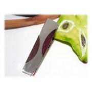 Pince de Cravates Bois Argent