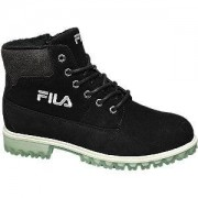 Fila Zwarte boot vetersluiting
