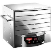 reber 10080n Essiccatore Alimenti Elettronico A Controllo Digitale Potenza 260 Watt Colore Inox - 10080n