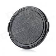 Tapa de lente de plastico universal de 67 mm para camara sony / pentax / fuji - negro