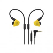 HEADPHONES, Audio-Technica ATH-LS50iSYL, Microphone, Yellow